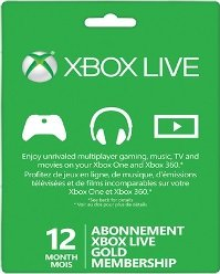 Xbox Live Gold 12 Months Digital Delivery