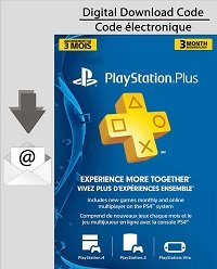 PlayStation Plus 3 Months Digital Delivery